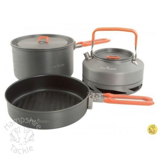 Fox Cookware MED 3pce set