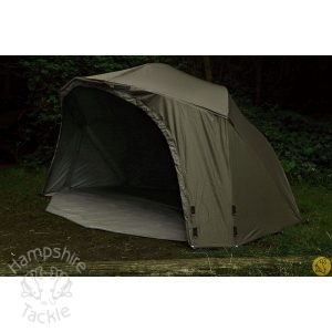 "Fox Ultra 60"" Khaki Green Brolly"